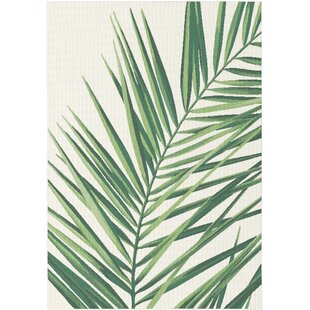 Julianna Cream/Green Rug by Longweave