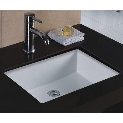 Decolav Classically Redefined Rectangular Undermount Bathroom Sink