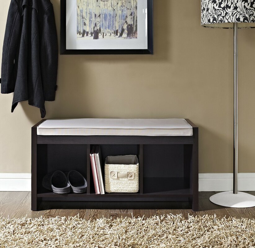 Claudia Storage Bench With Cushion