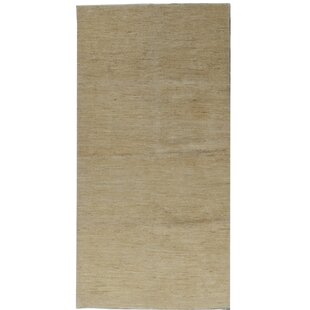 Ronni Hand Knotted Wool Beige Rug by Longweave