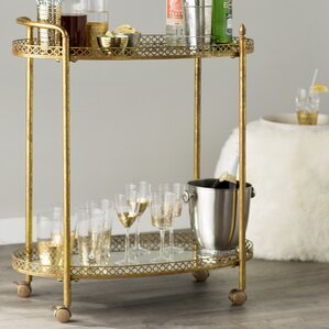 Mirrored Bar Cart by Mercer41