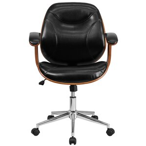 genuine leather office chairs | joss & main