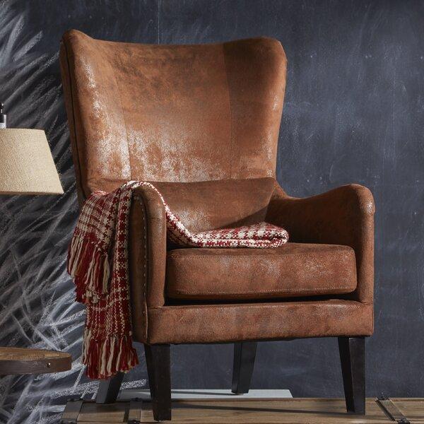 Alcott Hill Gordon High Back Wingback Chair U0026 Reviews | Wayfair
