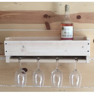 Felipe Wall Mounted Wine Glass Rack