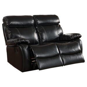 Chateau Leather Reclining Loveseat by Primo International