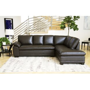 Leather Sectional Sofas You\'ll Love in 2019 | Wayfair