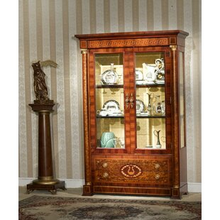 Ocilla Lighted Curio Cabinet