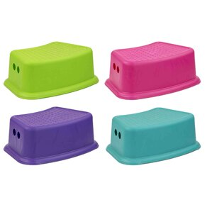 Step Stool with Rubber Top by Home Basics