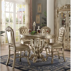 Welliver 5 Piece Counter Height Dining Set by Astoria Grand