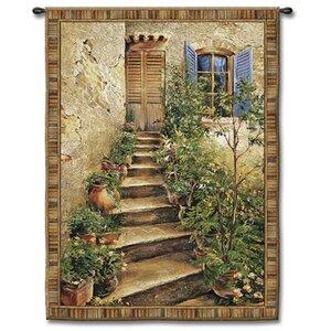 Roberta Tuscan Villa II Small by Roger Duvall, Roger Tapestry
