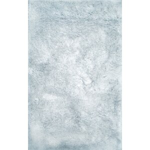 Luxe Tufted Light Ice Indoor Area Rug