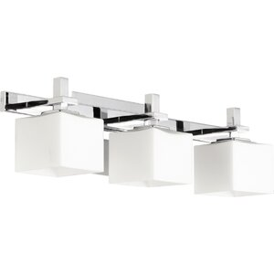 Square 3-Light Vanity Light