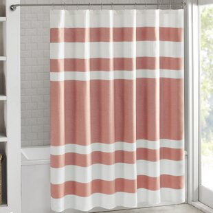 pale pink shower curtain. Malory Shower Curtain Pink Curtains You Ll Love
