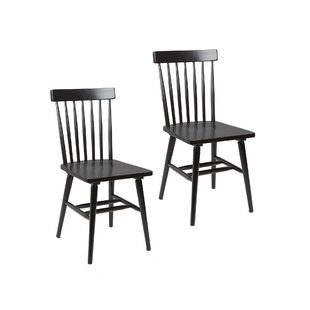 Black Windsor Kitchen Dining Chairs Youll Love Wayfair