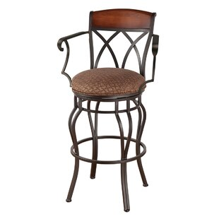 Hughey 26 Swivel Bar Stool