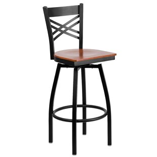 Thornfeldt 30.25 Swivel Bar Stool (Set of 2)
