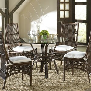 Wicker & Rattan Kitchen & Dining Tables You\'ll Love | Wayfair