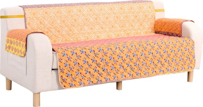 pegasus home fashions escapade box cushion sofa slipcover. Black Bedroom Furniture Sets. Home Design Ideas