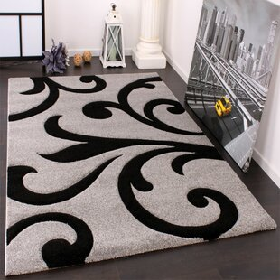 Colin Grey Black Rug