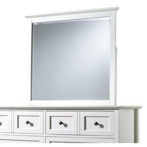 allenville beveled glass rectangular dresser mirror