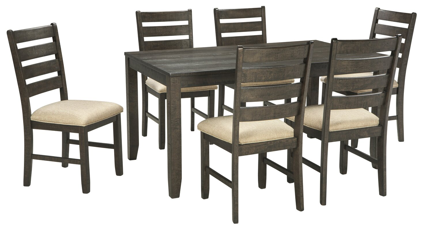 Signature Design By Ashley Rokane 7 Piece Dining Set Reviews