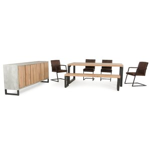 Modrest Reese 7 Piece Dining Set by VIG F..