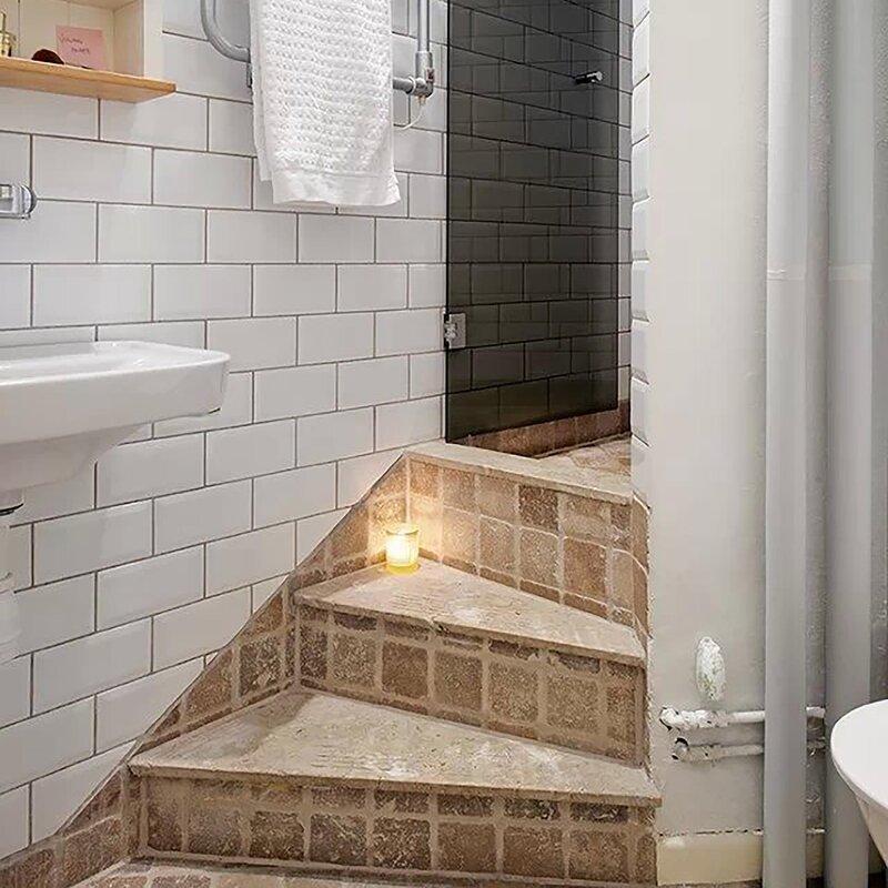 Prospect Beveled 3 X 6 Ceramic Subway Tile In Glossy White
