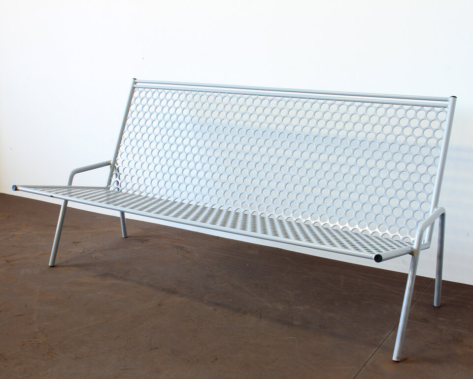 Beau Howard Series Steel Garden Bench