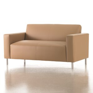 Vibe Loveseat in Grade 4 Fabric by Stu..
