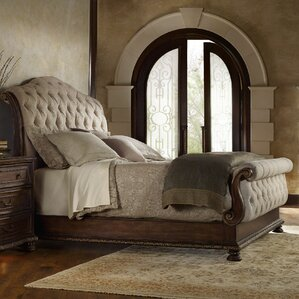 Nice Adagio Upholstered Sleigh Bed. Adagio Upholstered Sleigh Bed. By Hooker  Furniture