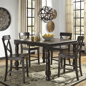 Gerlane Counter Height Extendable Dining Table by Signature Design by Ashley