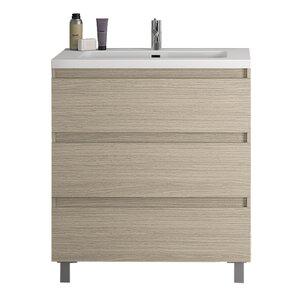 Linebath 82 cm Waschtisch Essence