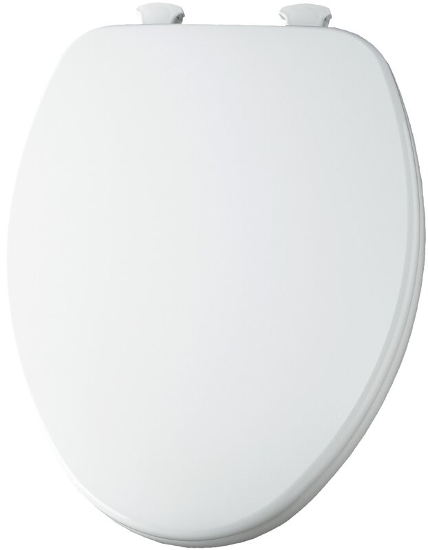 Default nameBemis Closed Front Elongated Toilet Seat   Reviews   Wayfair. Oblong Toilet Seat Cover. Home Design Ideas