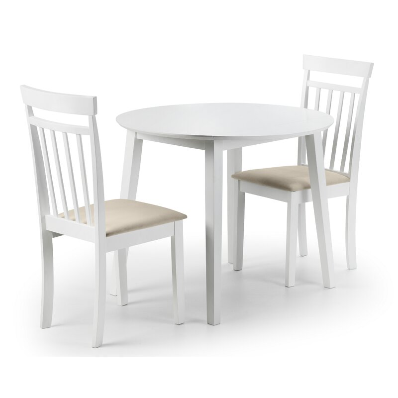 858abe995f220 Breakwater Bay Inglewood Extendable Dining Set with 2 Chairs ...