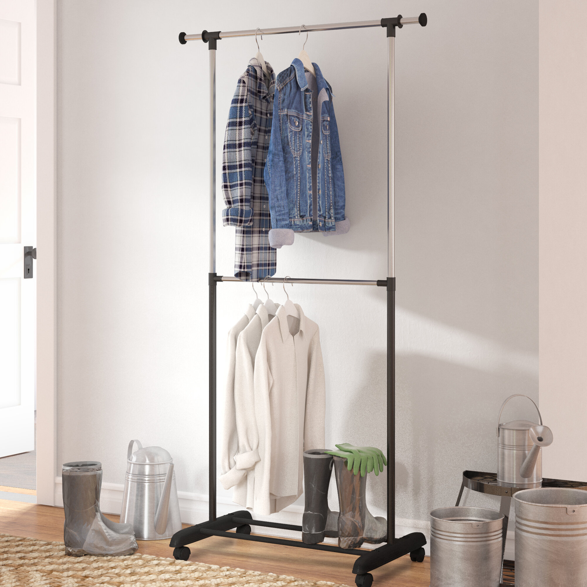 coat ip x versare ft rack com walmart rolling