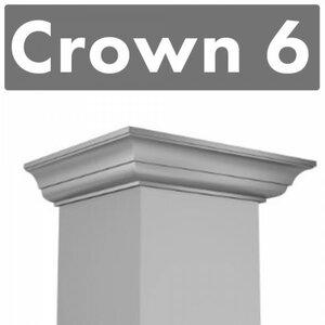 Range Hood Crown Molding Profileu00a06