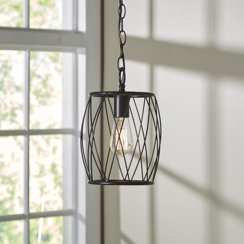 Wrought Studio Poynter 1-Light Mini Pendant & Reviews
