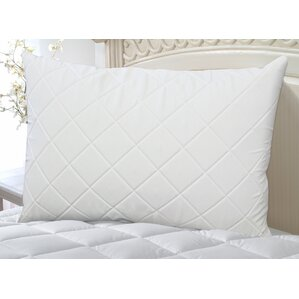 Wellrest Quilted Memory Foam Pad and Pillow Enhancer Set by Perfect Fit Industries