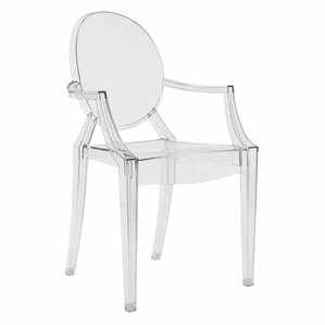 Louis Ghost Patio Dining Chair (Set Of 2)