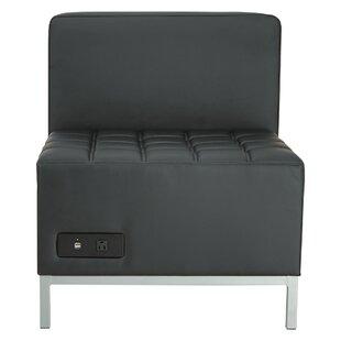 Alera QUB Series Armless Chair
