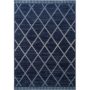 Vora Blue Rug by benuta