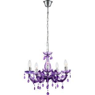 Purple chandeliers wayfair purple chandeliers mozeypictures Gallery