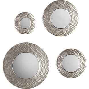 Modern Contemporary 3 Piece Wall Mirror Set Allmodern