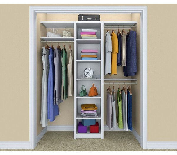 Closetmaid Spacecreations 44 Quot W 115 Quot W Closet System