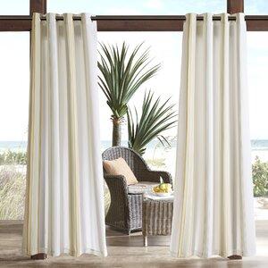 Corbin Outdoor Single Curtain Panel