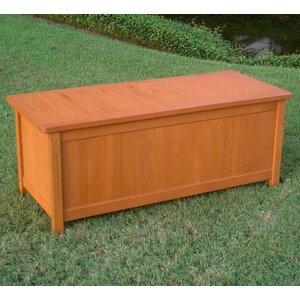 Sabbattus Outdoor Balau Deck Box