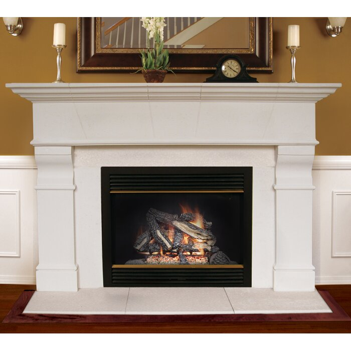 Roosevelt Fireplace Mantel Surround Americast Architectural Stone
