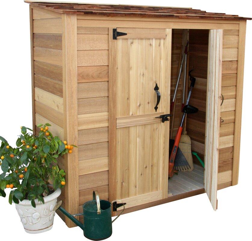 Garden Sheds 6 X 3 outdoor living today garden chalet 6 ft. 3 in. w x 3 ft. d wooden