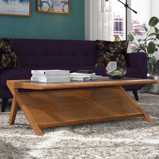 Alvarado Coffee Table With Magazine Rack