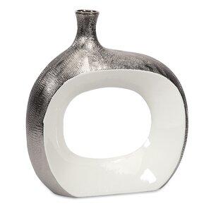 catalie large metallic vase